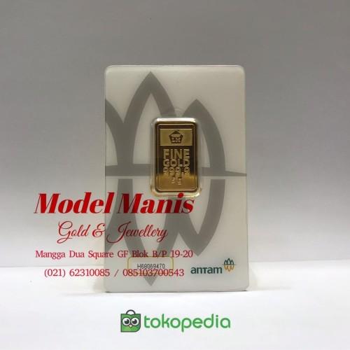 Foto Produk Logam Mulia LM 5 Gr ANTAM (REINVENTED) dari Model Manis M2S