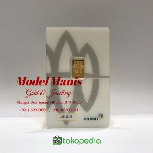 Foto Produk Logam Mulia LM 2 Gr ANTAM (REINVENTED) dari Model Manis M2S