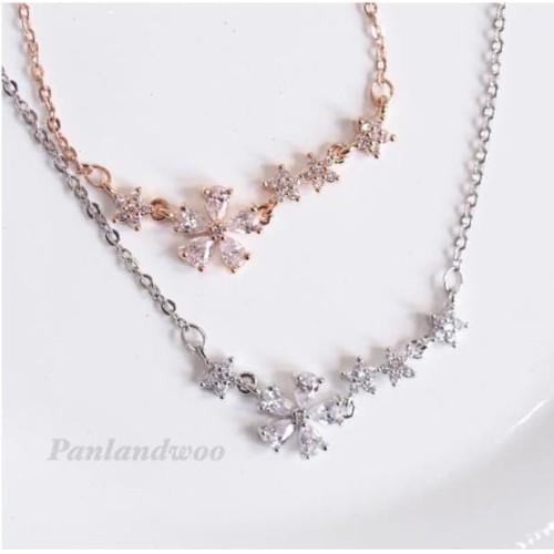Foto Produk Kalung Panlandwoo Fashion Korea Untuk Wanita - Carissa dari Panlandwoo