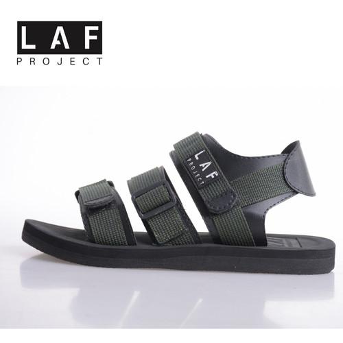 Foto Produk Sandal Gunung Pria Wanita Hiking Haji Umrah Hijau Army LAF Project - 42 dari LAF Project