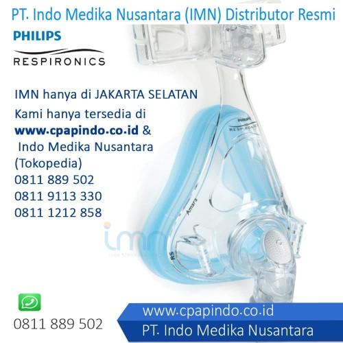 Foto Produk Amara Full Face Mask - Philips Masker CPAP / BiPAP dari INDO MEDIKA NUSANTARA