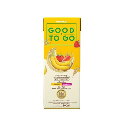 Foto Produk SUSU UHT INDOMILK GOOD TO GO BANANA BERRY 250 ML X 2 Pcs dari Indomilk Official Store