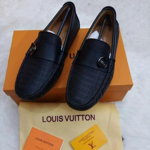 Foto Produk sepatu kulit lv kawe dari delicia boutique