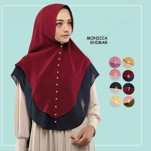 Foto Produk Jilbab Hijab Instant Khimar Syari Termurah Ameera Rempel Terbaru dari Alamak Hijab