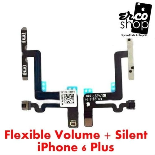 Foto Produk FLEXIBLE IPHONE 6P 6 PLUS VOLUME SILENT dari ERCO