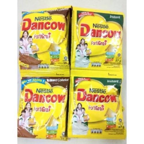 Foto Produk Susu DanCow Sachet rasa coklat/Putih dari Toko sembako ervi
