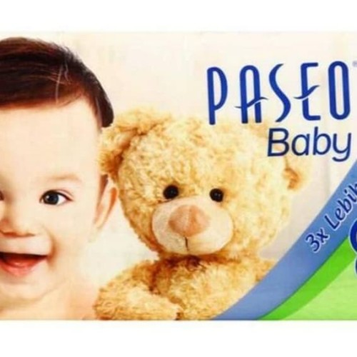 Foto Produk Paseo Baby Tissue PURE SOFT 130 sheets (3 ply) dari DAPURWANGI