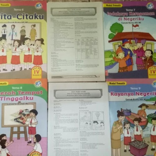 Jual Buku Lks Tematik K13 Kelas 4 Tema 6789 Plus Kunci Jawaban Jakarta Barat Samudra567 Tokopedia