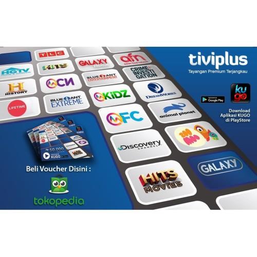 Foto Produk Voucher Tiviplus 50.000 dari Tiviplus Indonesia