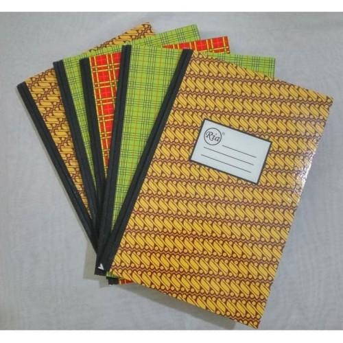 Foto Produk Buku tulis folio bergaris isi 200 lembar RIA murah meriah dari ATK Pasar Pagi