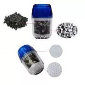 Foto Produk Double Purifier Filter Head Water Purified Faucet Tap Bamboo Charcoal dari ICG