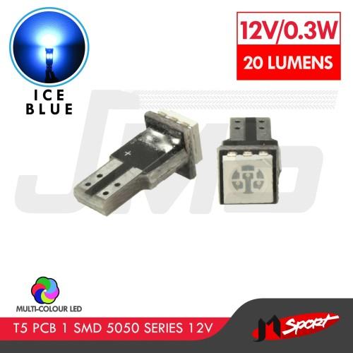 Foto Produk Lampu LED Speedometer / Dashboard T5 PCB 1 SMD - Ice Blue dari Jaya Motorsport