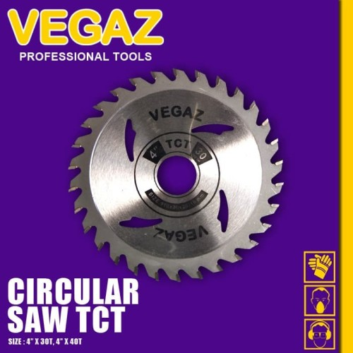 Foto Produk VEGAZ - Circular Saw TCT / Mata Gergaji Kayu dari Vegaz-Tools