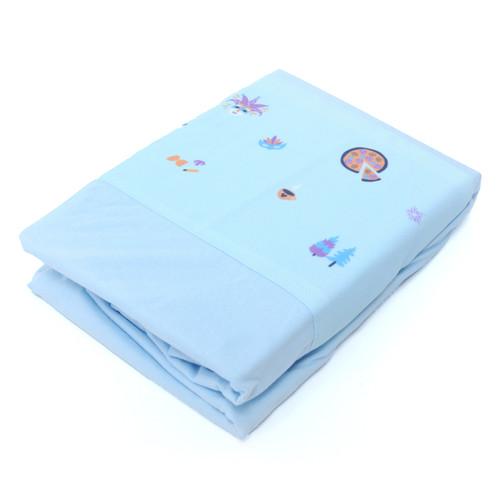 Foto Produk Babybee - Fine Bed Linen 95x65 Europe - Sprei - Biru Muda dari BABYBEE