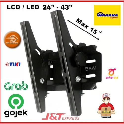 Foto Produk braket breket bracket tv led 24 32 40 43 inci, bisa semua merk tv dari berkahjaya41