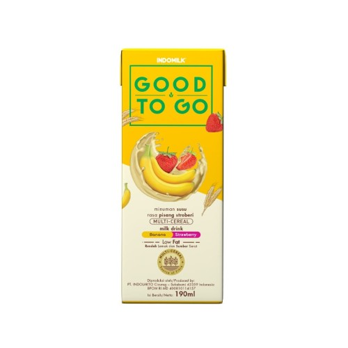 Foto Produk SUSU UHT INDOMILK GOOD TO GO BANANA BERRY 250 ML X Pcs dari Indomilk Official Store