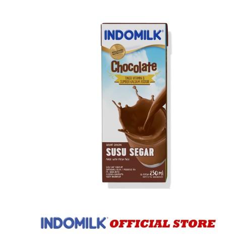 Foto Produk SUSU UHT INDOMILK CHOCO 250 ML X Pcs dari Indomilk Official Store