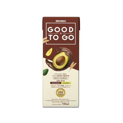 Foto Produk SUSU UHT INDOMILK GOOD TO GO CHOCO AVOCADO 250 ML X Pcs dari Indomilk Official Store