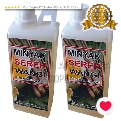 Foto Produk 1000 ml - MINYAK SEREH Wangi - Minyak Serai MURNI - Citronella Oil dari ELEGANTO