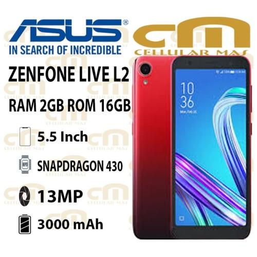 Foto Produk Asus Zenfone Live L2 2/16 RAM 2GB ROM 16GB GARANSI RESMI ASUS - Biru dari Cellular Mas