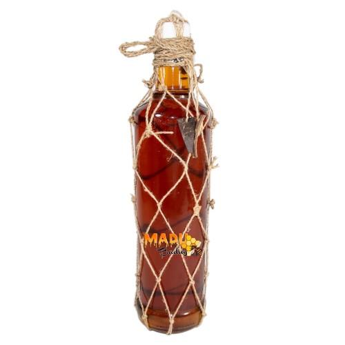 Foto Produk Madu Asli Lebah Liar dari Hutan Baduy. Botol Kaca 600ml + Keranjang. dari Madu Baduy