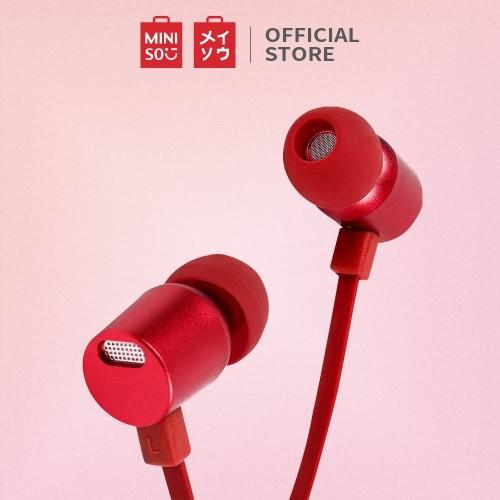 Foto Produk Miniso Official Metallic In-Ear Headphones - Biru Muda dari Miniso Indonesia