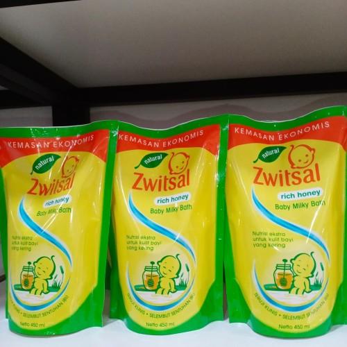 Foto Produk Zwitsal baby milk bath rich honey dari joel_mart