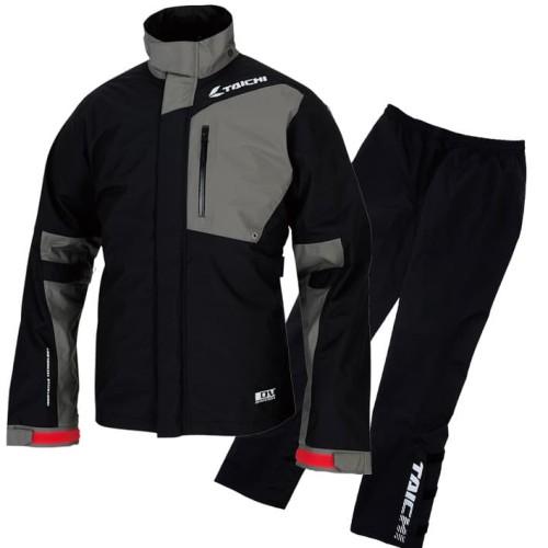 Foto Produk RS Taichi RSR043 Drymaster-X Rain Suit - Black - XXL dari RS Taichi Official Store