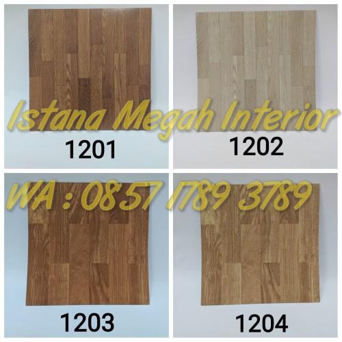 Foto Produk Lantai Vinyl Floor Tile Borneo Motif Kayu dari Istana Megah Interior
