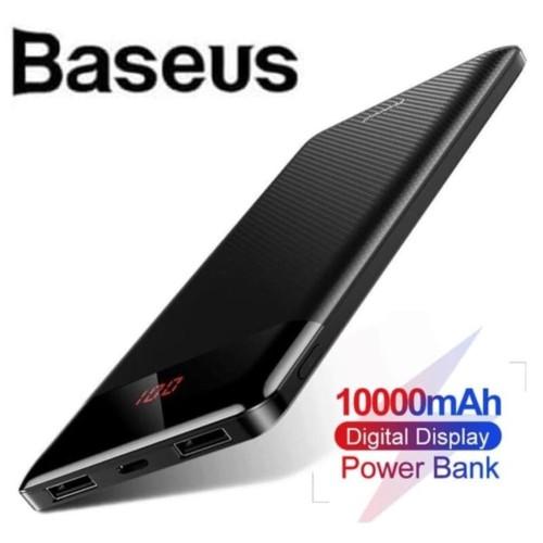 Foto Produk Baseus 10000mAh Super Tipis Power Bank LED Fast Charging dari GOGOMO