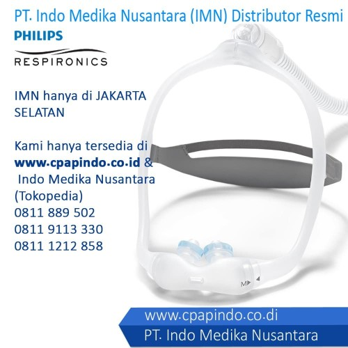 Foto Produk DreamWear Nasal Pillow Mask - Philips Respironic New Mask dari INDO MEDIKA NUSANTARA