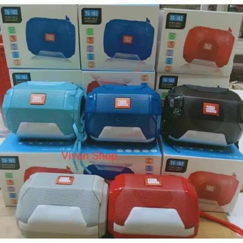 Foto Produk speaker portabel bluetooth TG162 speaker wireless LED dari WMP01 online