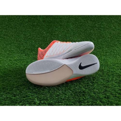 Foto Produk Futsal Nike Lunar Gato II IC - Mahogany Hyper Crimson Orange dari gudangreplika1