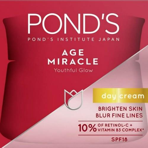 Foto Produk Ponds Age Miracle Day Cream 50gr - Ponds Day Cream dari Rivela Store