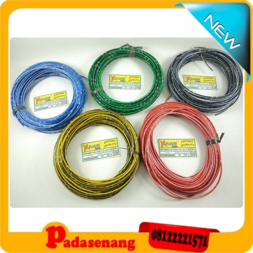 Foto Produk Kabel Bintik Jepang Original Uk 0.85 MM/Kabel Bodi Mobil/Kabel Sekring dari Pada Senang
