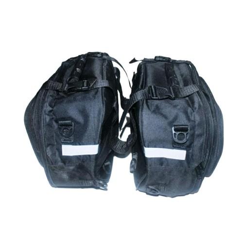 Foto Produk Sidebag motor Side Bag Oval Tas Samping Motor Waterproof Funcover dari Kellly Store