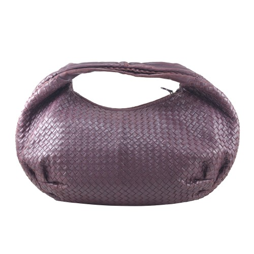 Foto Produk Bottega Veneta Intrecciato Belly in Dark Purple I9642C dari SECOND CHANCE