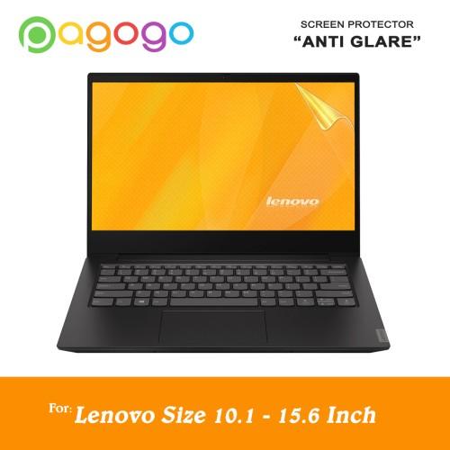 Foto Produk Screen Protector Anti Gores Laptop Lenovo 10 11 12 13 14 15 Anti Glare dari pagogo