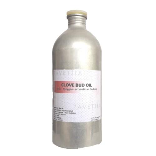 Foto Produk 500 ml - minyak atsiri bunga cengkeh / clove bud oil dari pavettia essential oil