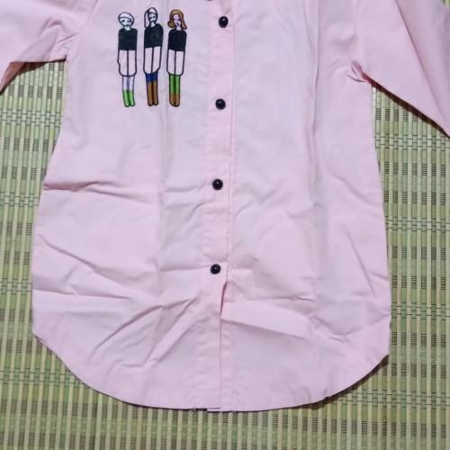 Foto Produk Kemeja PINK loose anak perempuan Preloved dari EJ shoppe