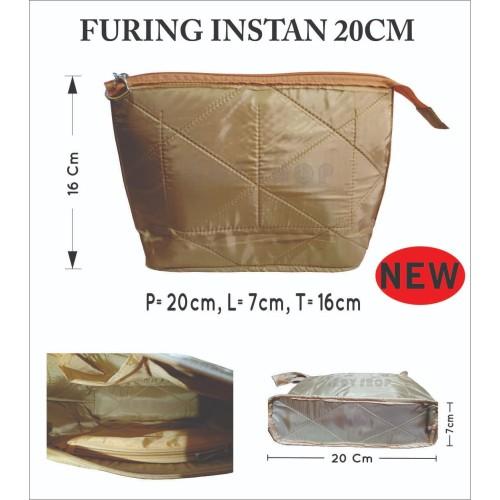 Foto Produk Inner Tas Furing Tas Instan 20x7x16 dari lady-shop