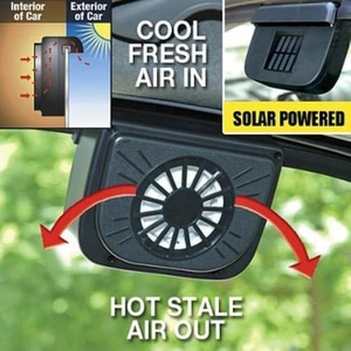 Foto Produk Auto Cool Hexos Fan Solar Kipas Penghilang Panas Di Dalam Mobil dari Karlina Online