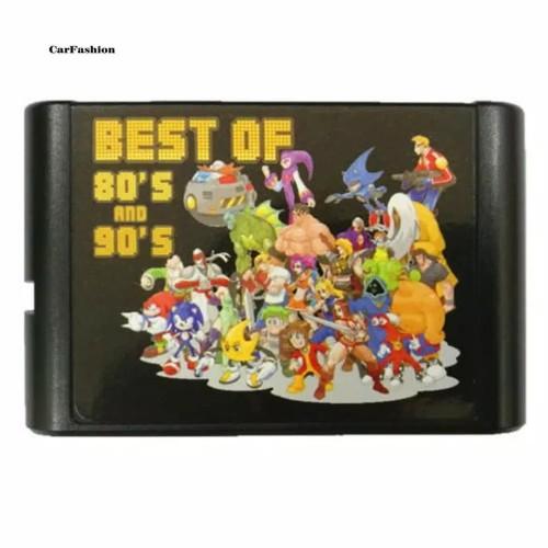 Foto Produk Multicart Sega Mega Drive (SMD): 16-Bit The Best 196 in 1 dari Dinar