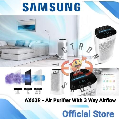 Foto Produk Samsung AX60R - Air purifier With 3 Way Airflow - AX60R5080WD - PROMO dari E Three Shop
