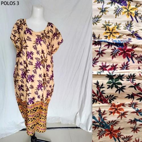 Foto Produk Grosir Daster Midi Jumbo Rayon Polos Murah Baju Tidur Kode 3 dari Tshirt Kita