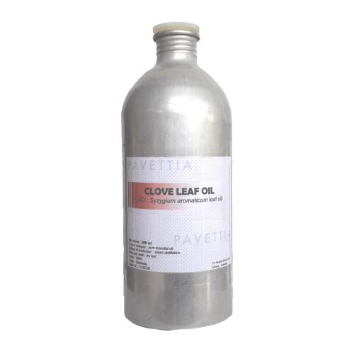Foto Produk 500 ml - minyak atsiri daun cengkeh / clove leaf essential oil dari pavettia essential oil