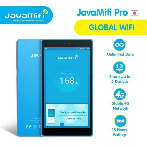 Foto Produk JavaMifi PRO Global Travel Wifi Unlimited 140+ Countries Ownership dari JavaMifi