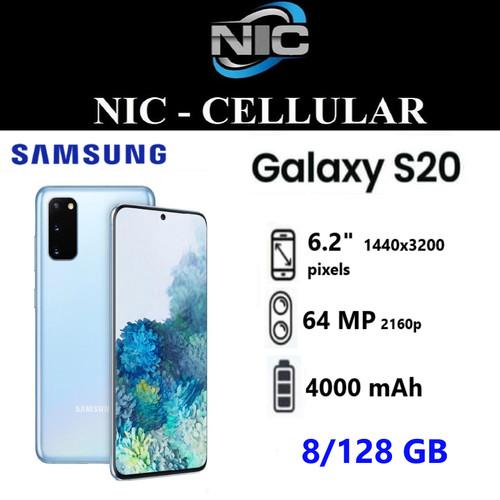 Foto Produk Samsung Galaxy S20 RAM 8/128GB Garansi Resmi Sein - cloud blue dari Nic-cell