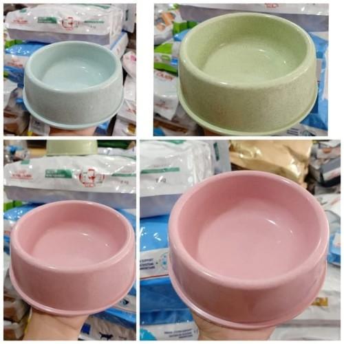 Foto Produk Tempat Makan Hewan - Simple Round Food Bowl dari Pet Zone