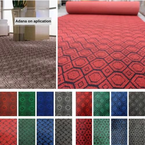 Foto Produk [Martha Karpet] Karpet Brudu ADANA Karpet Wool Motif Meteran 1 x 2 - GREEN05 dari Martha Karpet Indonesia